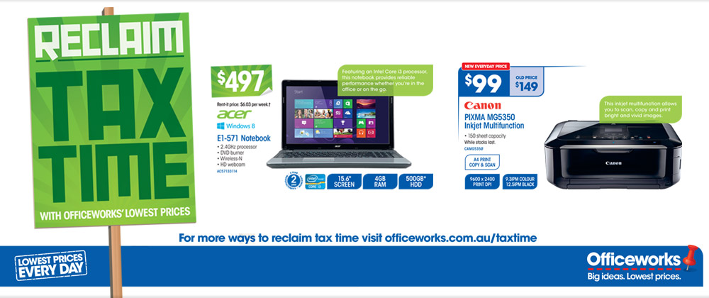Officeworks 23nd May-28th May 2013 NEW SITE